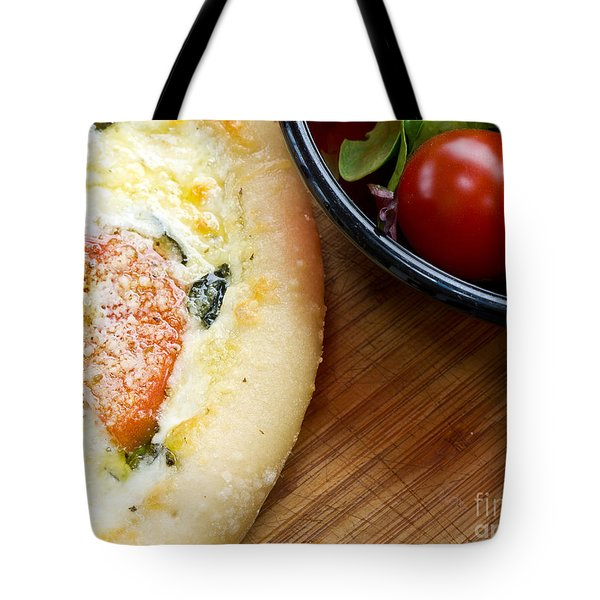 Pizza Tote Bag by Edward Fielding