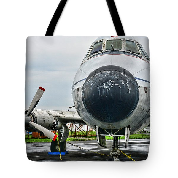 Plane Noses Up Tote Bag by Paul Ward