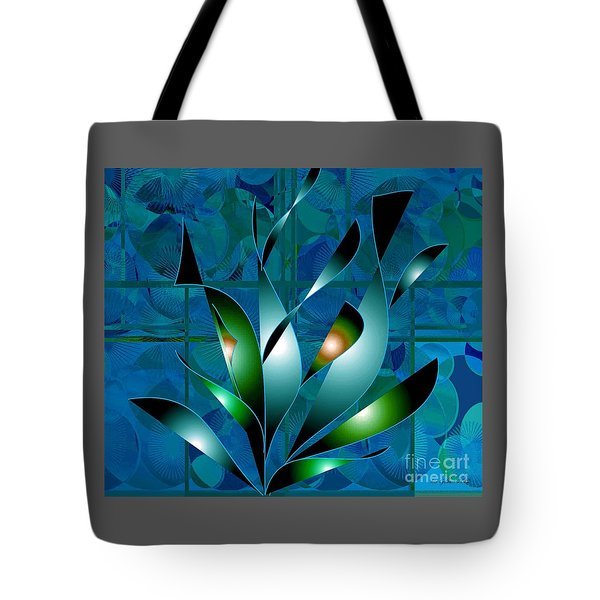 Planted Beauty Tote Bag by Iris Gelbart