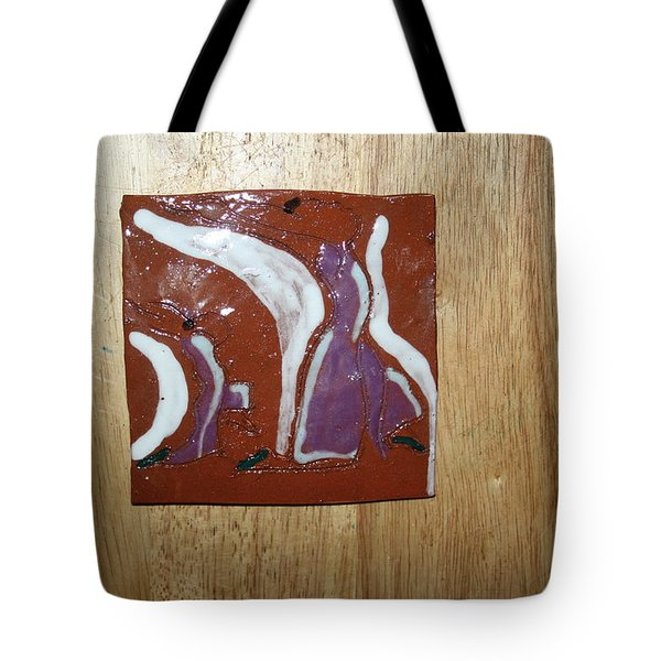 Pose - Tile Tote Bag by Gloria Ssali