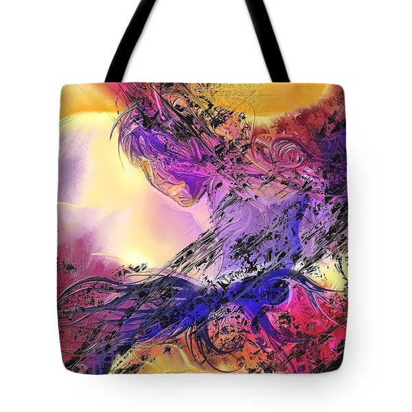 Presence Tote Bag by Francoise Dugourd-Caput