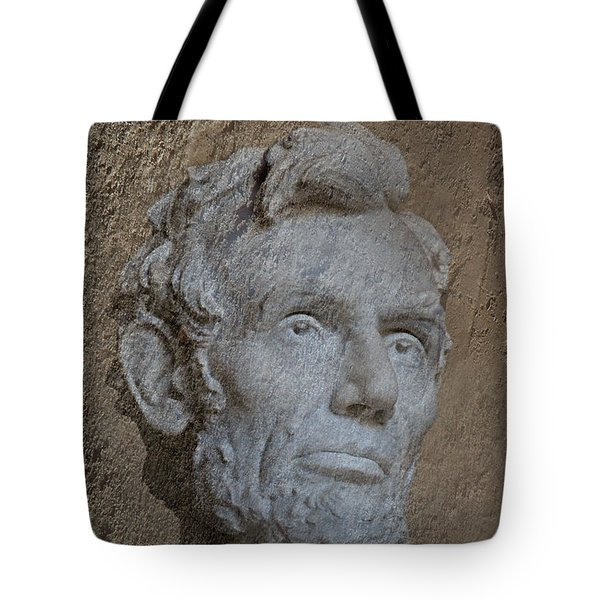 President Lincoln Tote Bag by Skip Willits