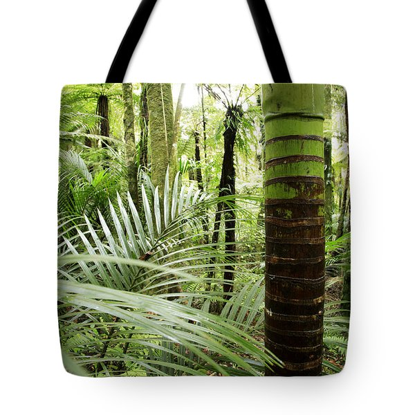 Rainforest  Tote Bag by Les Cunliffe
