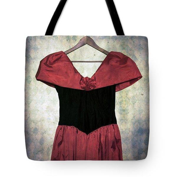 Red Dress Tote Bag by Joana Kruse