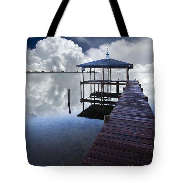 Reflections Tote Bag by Debra and Dave Vanderlaan