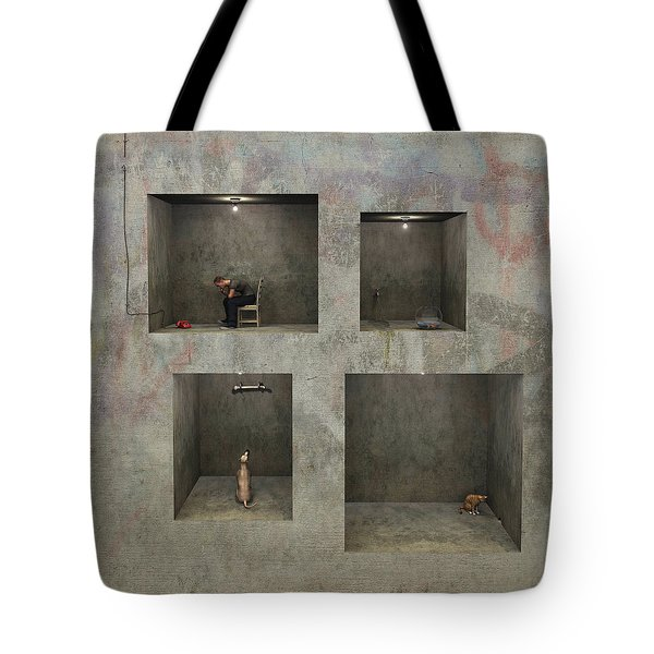 Regarding Desire Tote Bag by Cynthia Decker