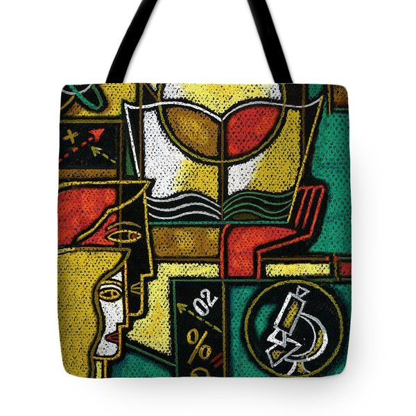 Research Tote Bag by Leon Zernitsky