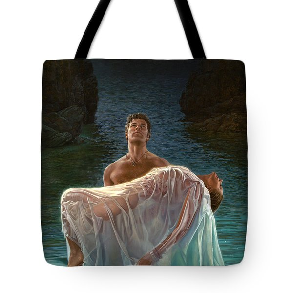 Resurrection Tote Bag by Mia Tavonatti