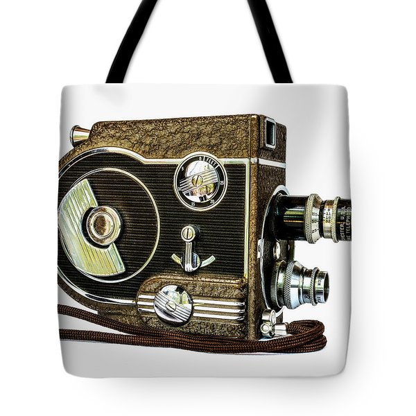 Revere 8 Movie Camera Tote Bag by Jon Woodhams