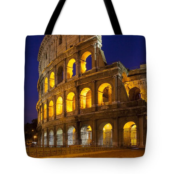 Roman Coliseum Tote Bag by Brian Jannsen