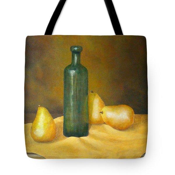Roman Table Tote Bag by Pamela Allegretto