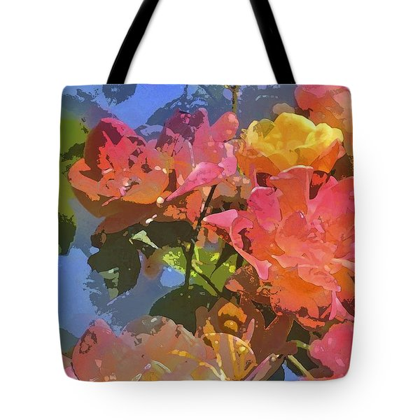 Rose 208 Tote Bag by Pamela Cooper