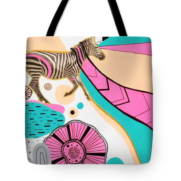 Running High Tote Bag by Susan Claire