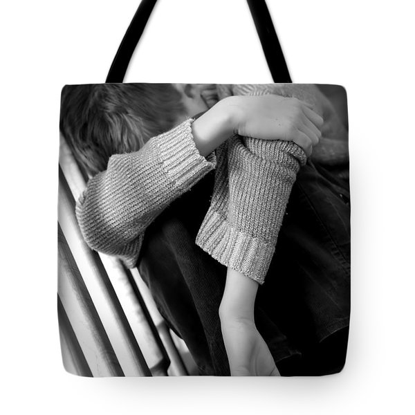 Sadness Tote Bag by Michal Bednarek