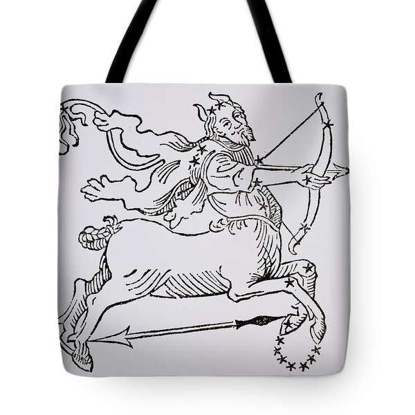 Sagittarius An Illustration Tote Bag by Italian School