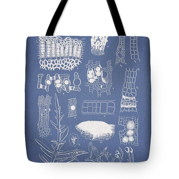 Salwater Algae Tote Bag by Aged Pixel