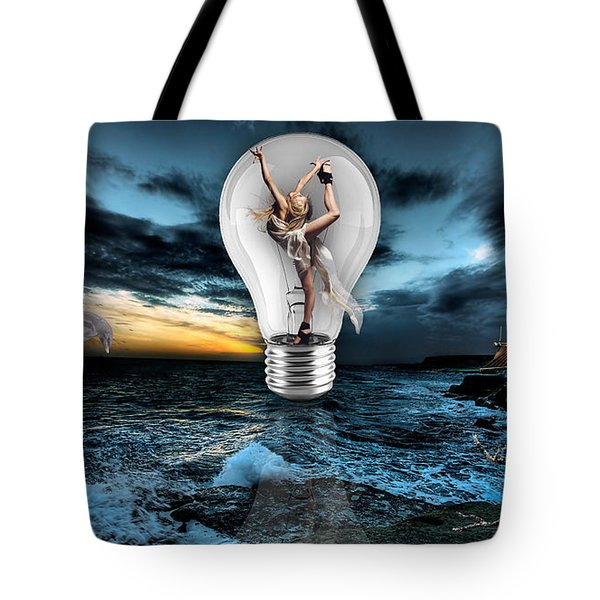 Self Expression Tote Bag by Marvin Blaine