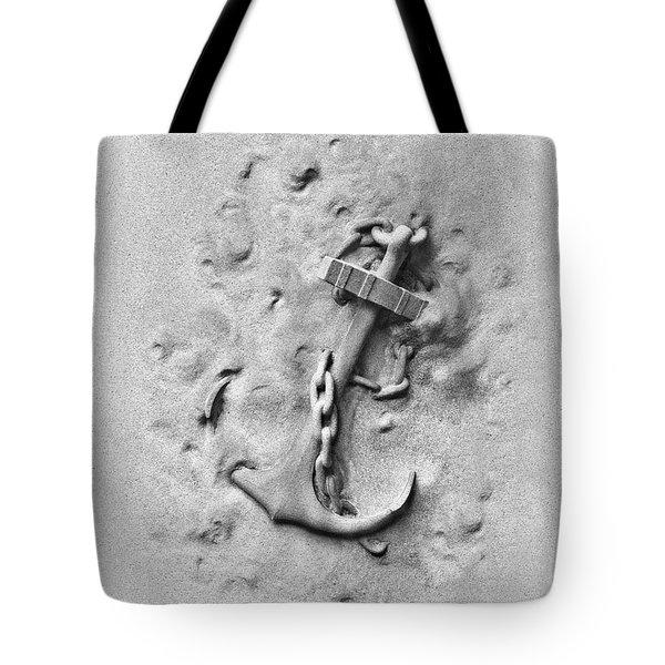 Ship's Anchor Tote Bag by Tom Mc Nemar