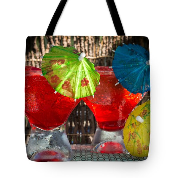Shirley Temple Cocktail Tote Bag by Iris Richardson