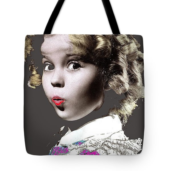 Shirley Temple Publicity Photo Circa 1935-2014 Tote Bag by David Lee Guss
