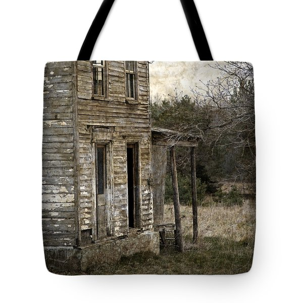 Side Porch Tote Bag by John Stephens