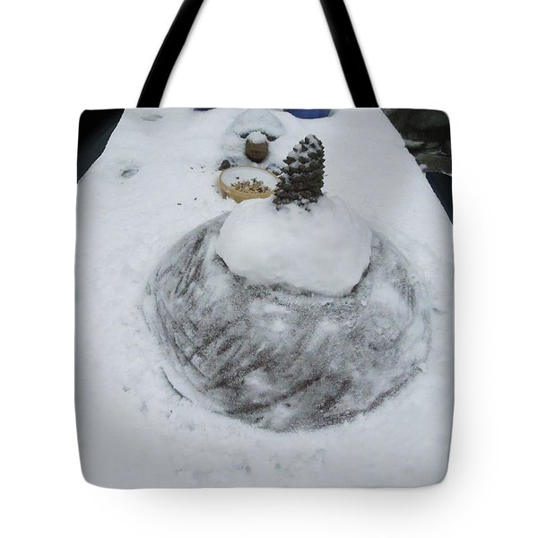 Snow Fall Serie December 2012  Tote Bag by Colette V Hera  Guggenheim