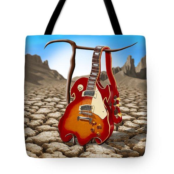 Soft Guitar II Tote Bag by Mike McGlothlen