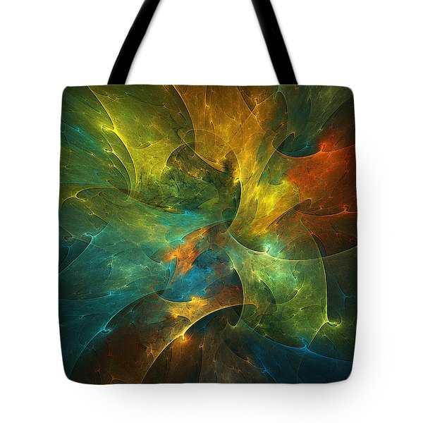 Somewhere In The Universe Tote Bag by Klara Acel