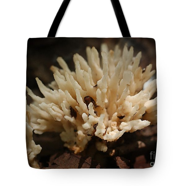 Spindle Mushroom Tote Bag by Susan Leavines