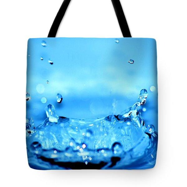 Splash Tote Bag by Michal Bednarek