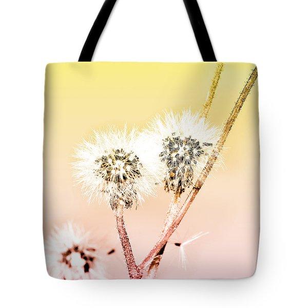 Spring Dandelion Tote Bag by Toppart Sweden