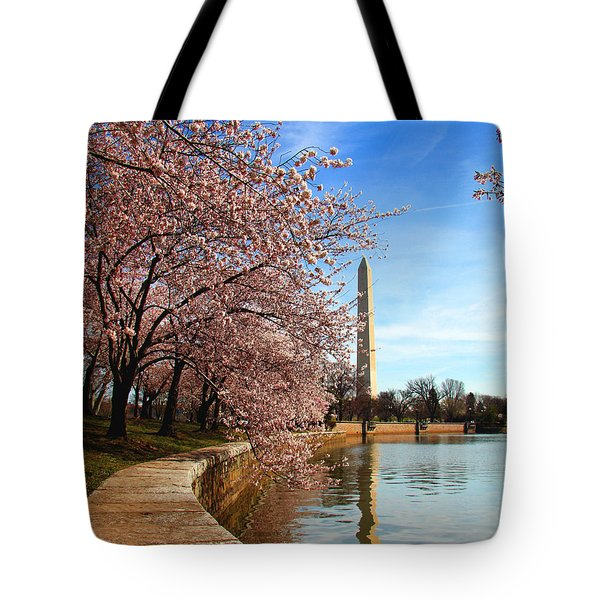Spring Tote Bag by Mitch Cat
