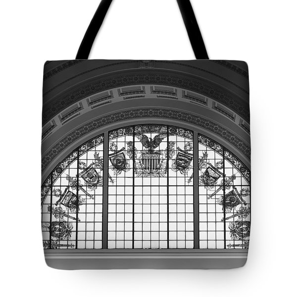 Stained Glass - Library Of Congress Tote Bag by Mountain Dreams