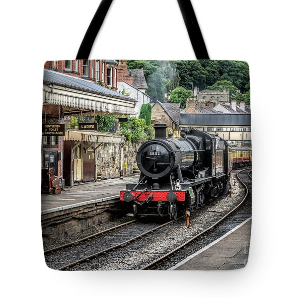 Steam Train Tote Bag by Adrian Evans