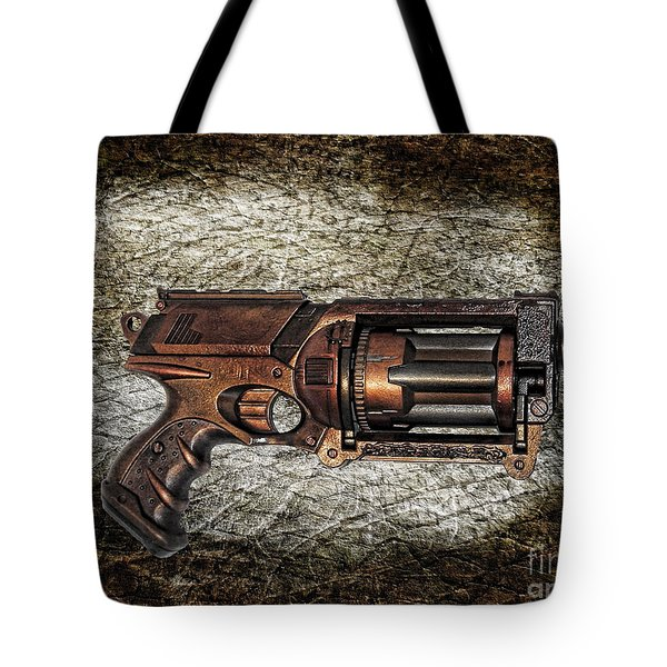 Steampunk - Gun - The Multiblaster Tote Bag by Paul Ward
