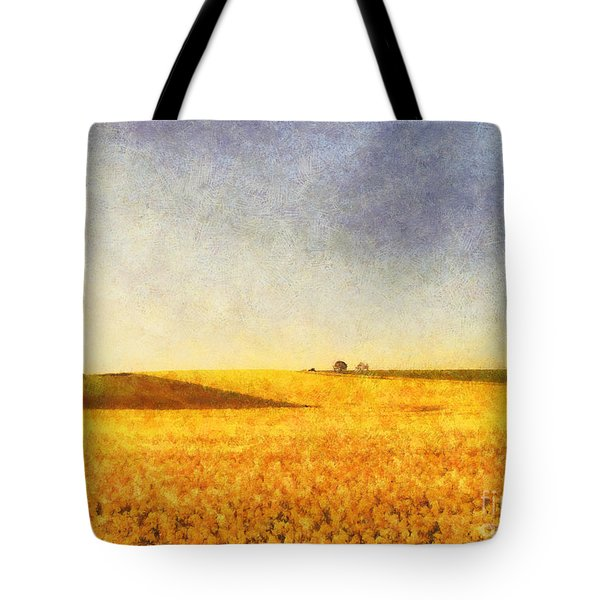 Summer Field Tote Bag by Pixel Chimp