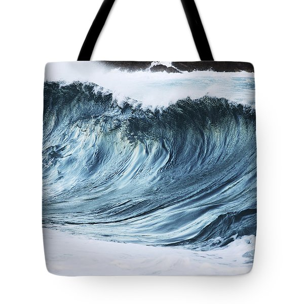 Sunlit Wave Tote Bag by Vince Cavataio