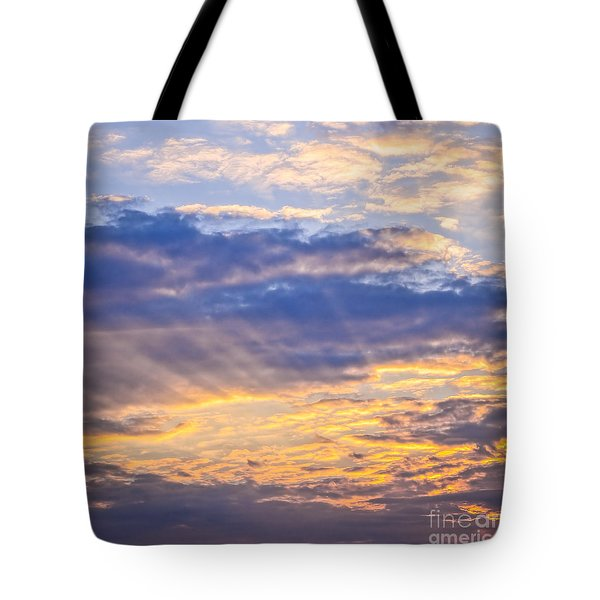 Sunset sky Tote Bag by Elena Elisseeva