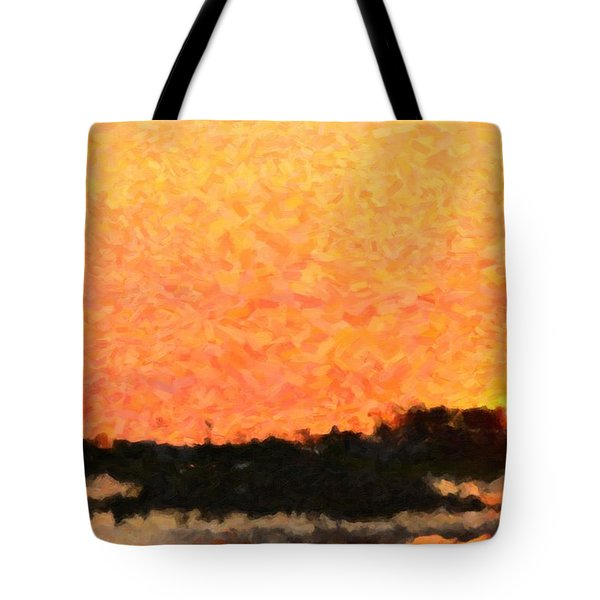 Sunset Tote Bag by Toppart Sweden