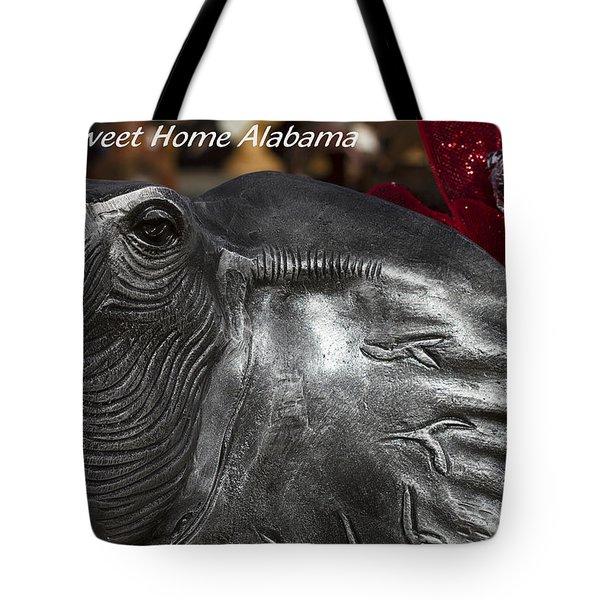 Sweet Home Alabama Tote Bag by Kathy Clark