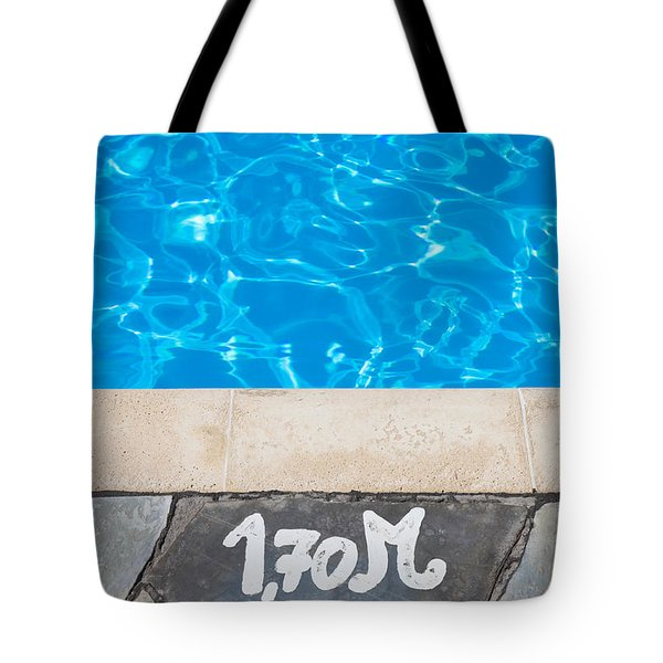 Swimming Pool Tote Bag by Tom Gowanlock