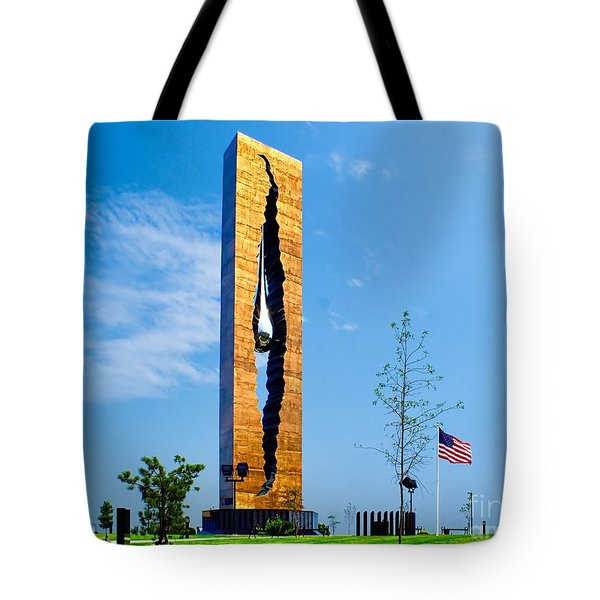 Tear Drop Of Grief Tote Bag by Nick Zelinsky