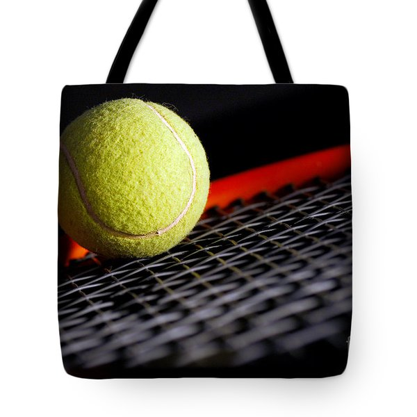 Tennis equipment Tote Bag by Michal Bednarek