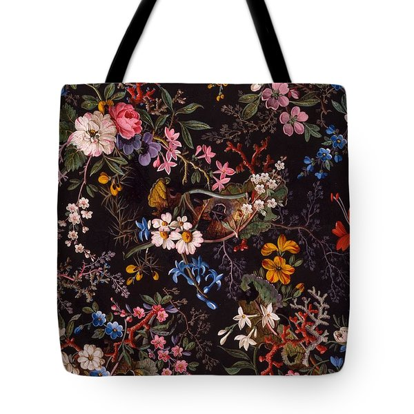 Textile Design Tote Bag by William Kilburn