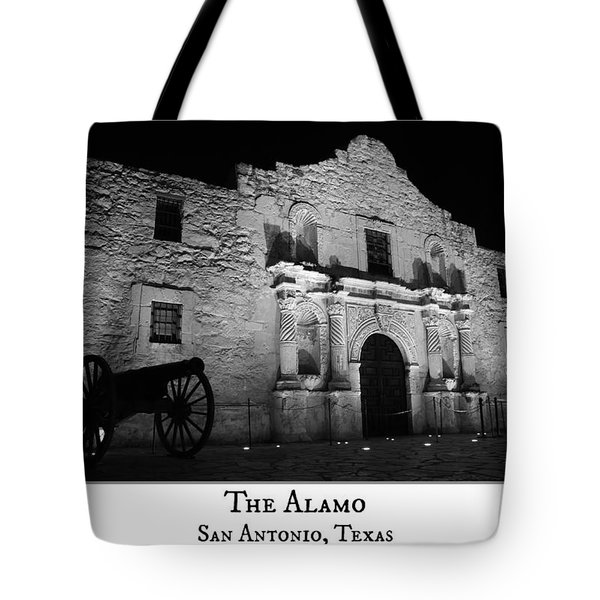 The Alamo Tote Bag by Stephen Stookey