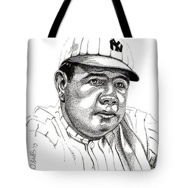 The Babe Tote Bag by Cory Still