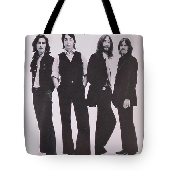 The Beatles Tote Bag by Donna Wilson