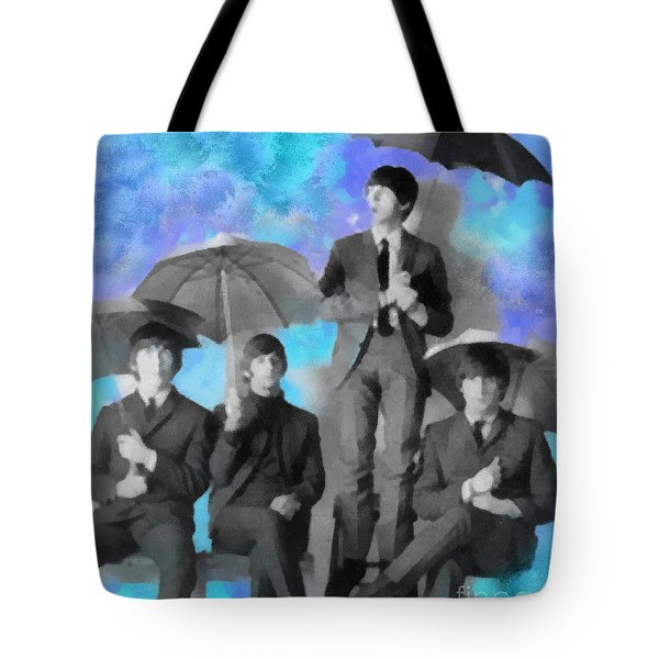 The Beatles Tote Bag by Paulette B Wright