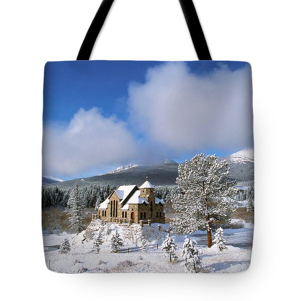 The Chapel On The Rock I Tote Bag by Eric Glaser