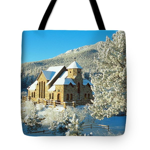 The Chapel On The Rock II Tote Bag by Eric Glaser